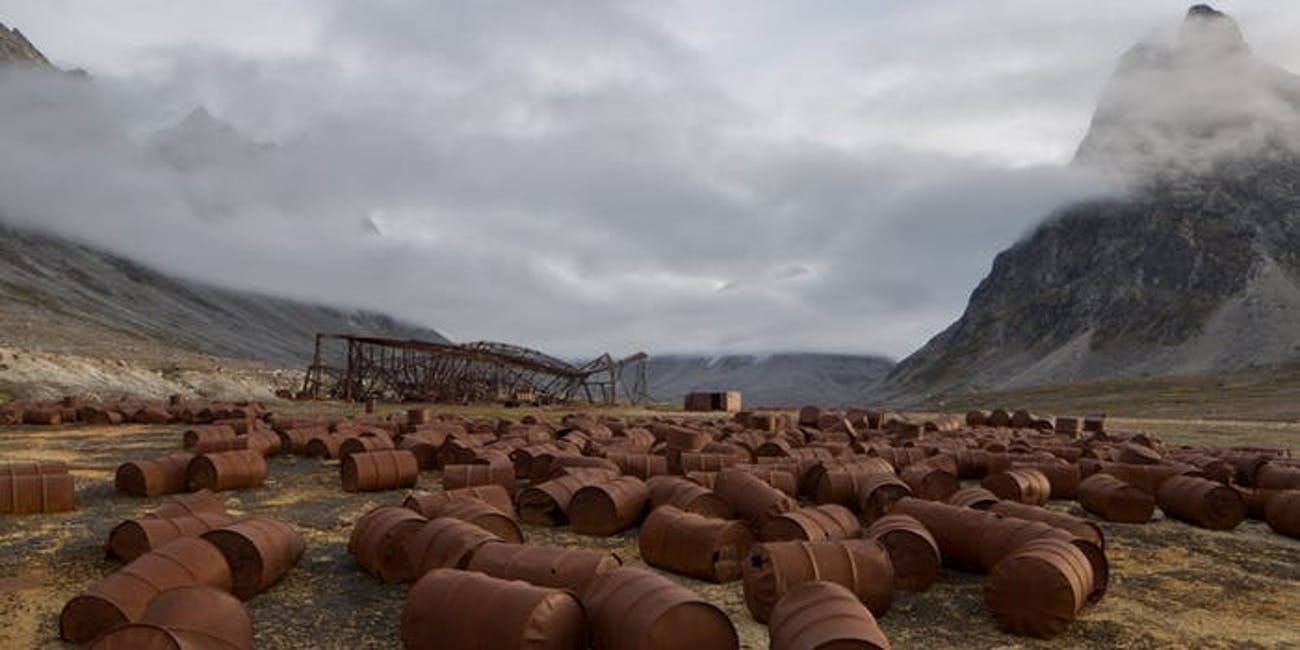 greenland nuclear waste WWII
