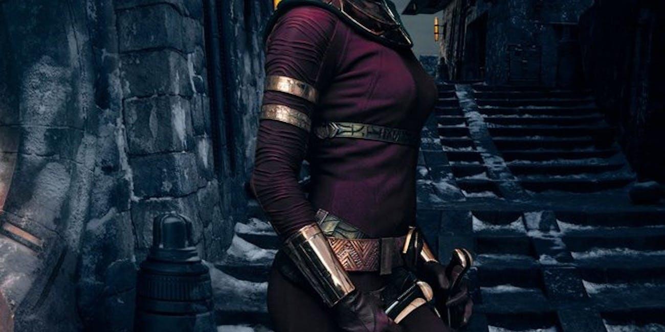 Zorri Bliss in Star Wars Rise of Skywalker