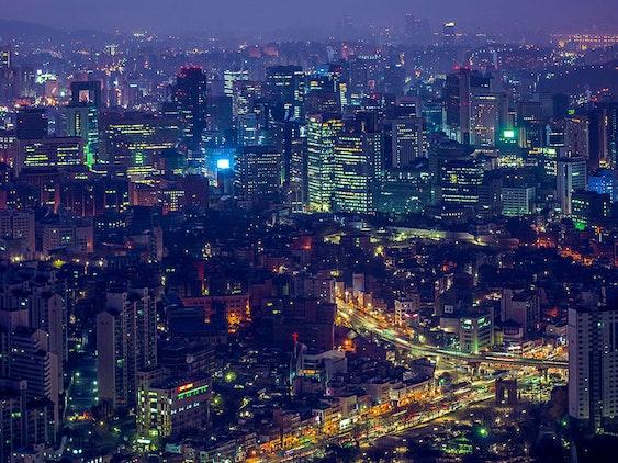 Awakening of the City - Seoul in Dawn