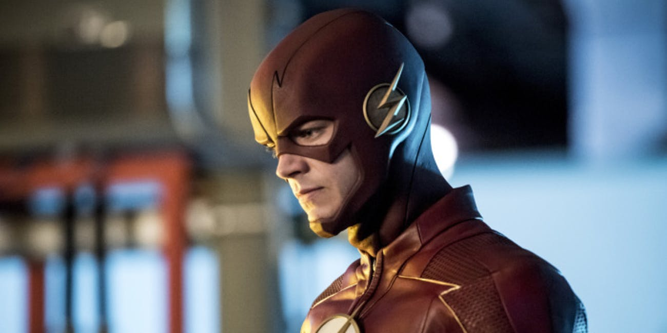 Now that's a flashy new suit.