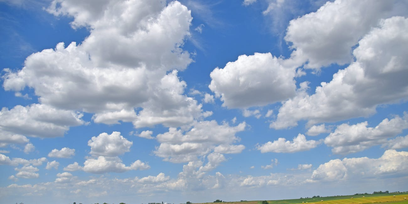 Clouds -- Central Iowa on I-80 May 2018