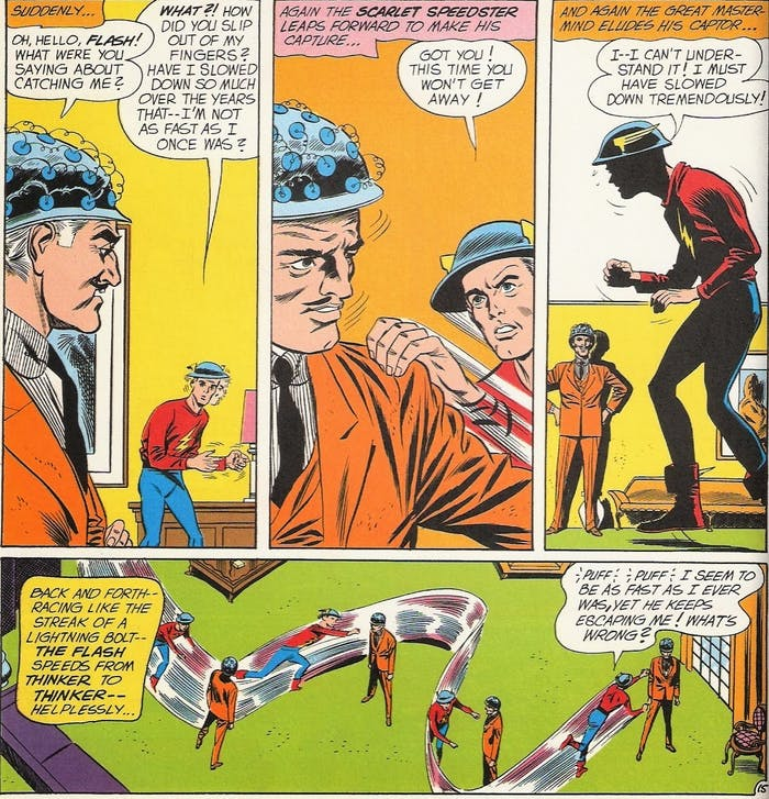 The Flash Jay Garrick The Thinker Devoe