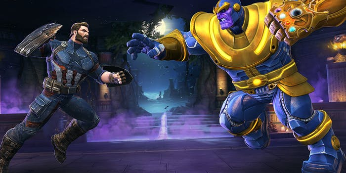 'Contest of Champions' Steve Rogers Thanos