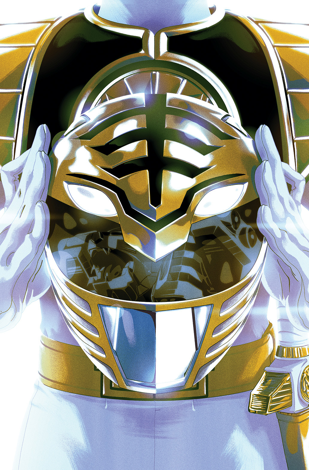 Power Rangers Just Dropped A White Ranger Nuclear Bomb Inverse