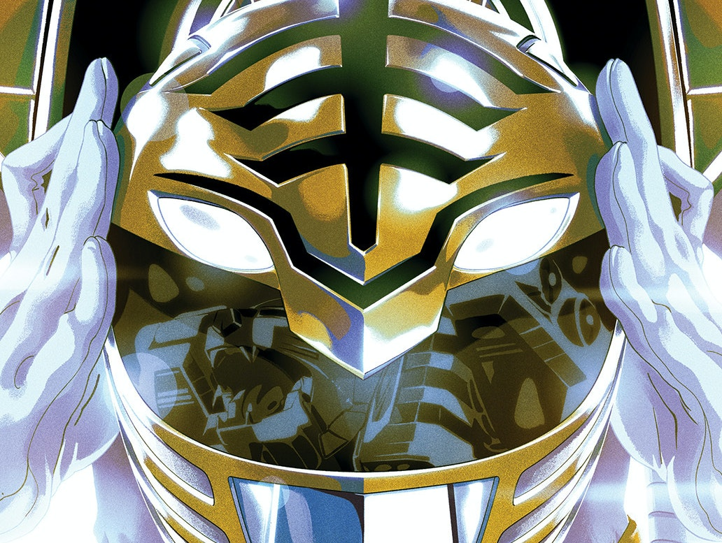 'Power Rangers' Just Dropped a White Ranger Nuclear Bomb