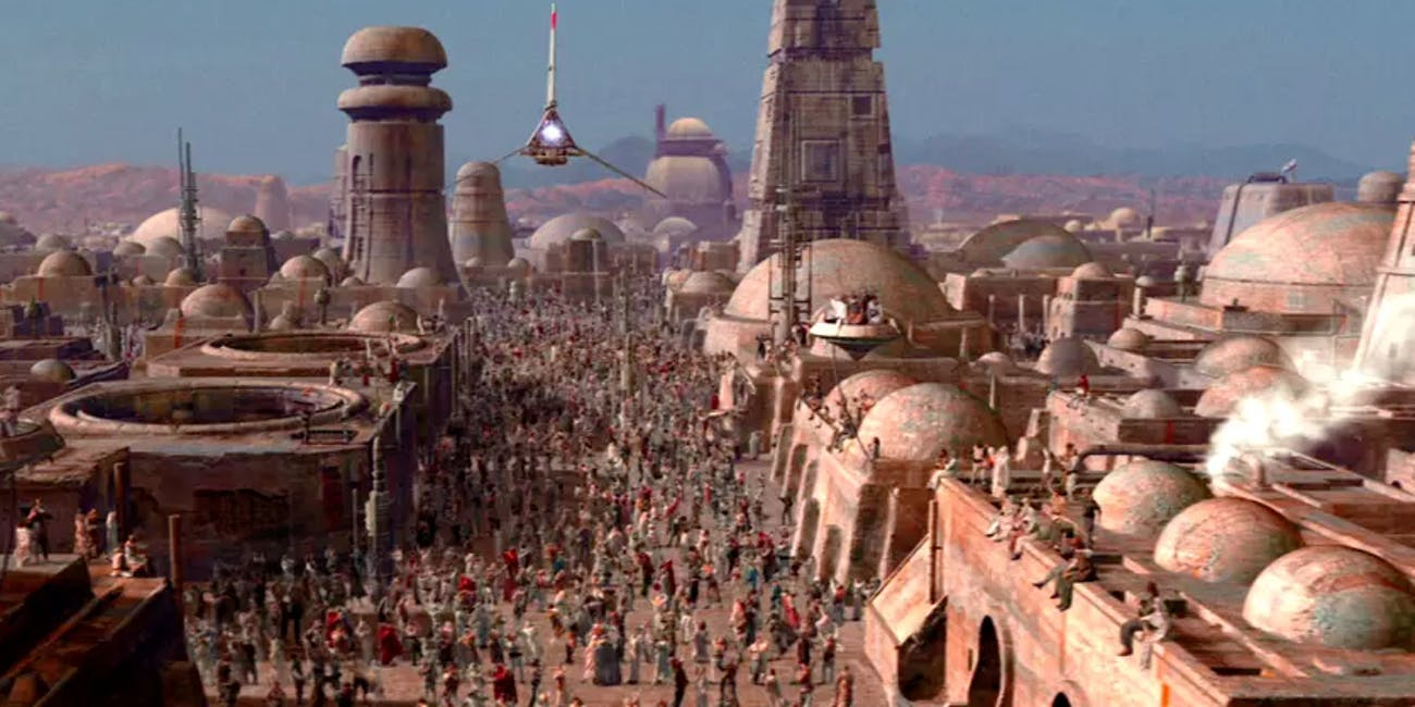 Tatooine in 'Star Wars'