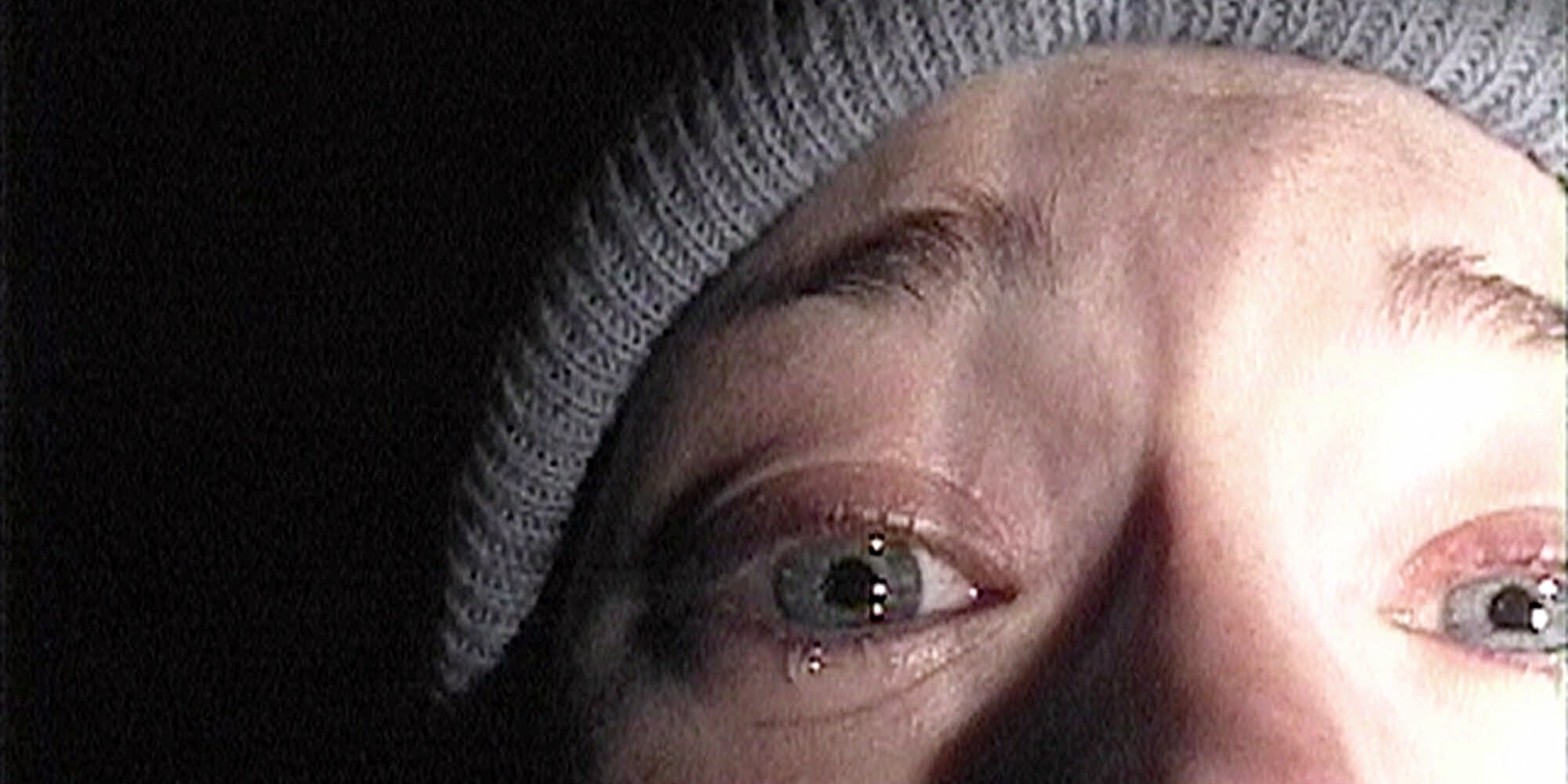 Heather Donahue in The Blair Witch Project