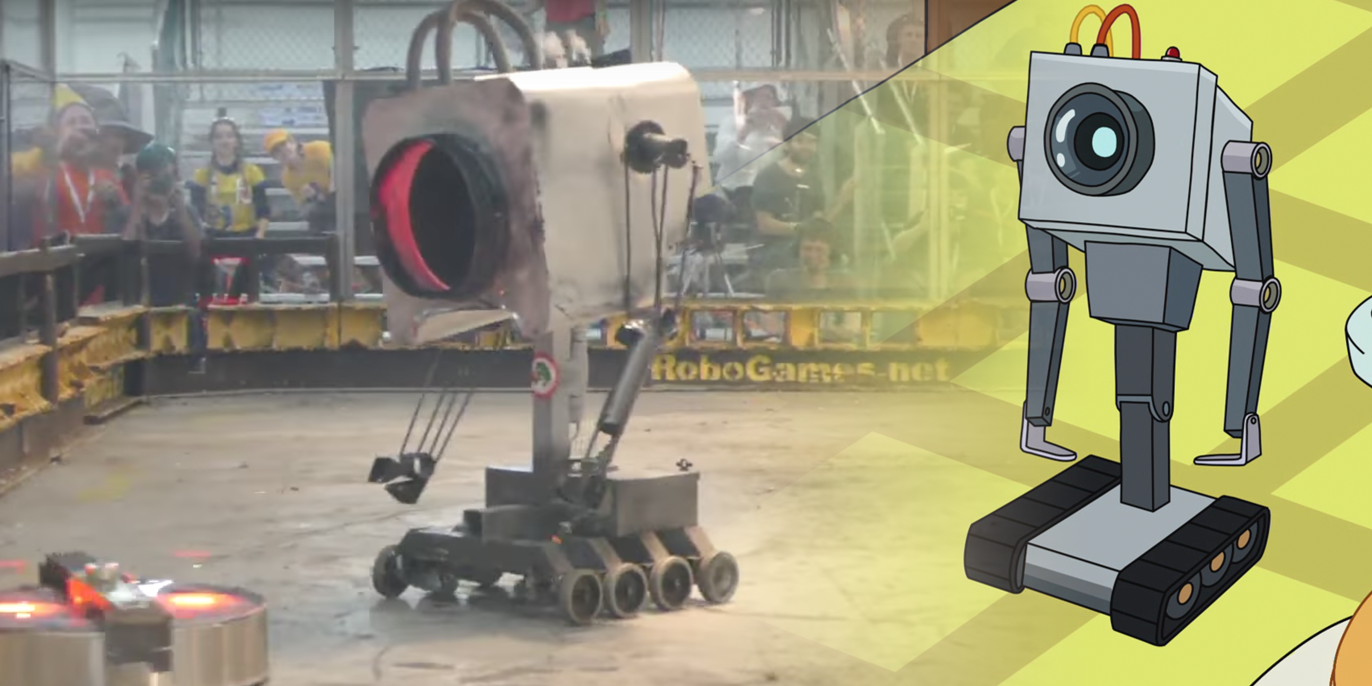 Watch a Real 'Rick and Morty' Butter Robot Fight to the