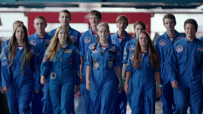 space camp kids