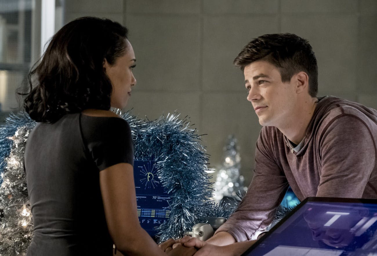 Barry and Iris have a very short-lived grace period after their honeymoon.
