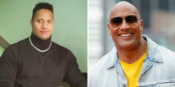 Dwayne The Rock Johnson baldness alopecia genetics science
