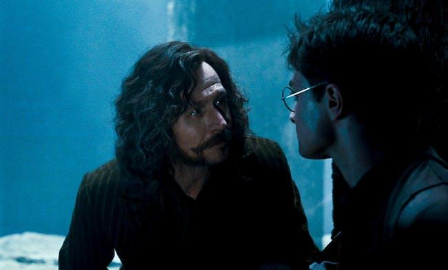 Gary Oldman and Daniel Radcliffe on the twentieth anniversary of Harry Potter
