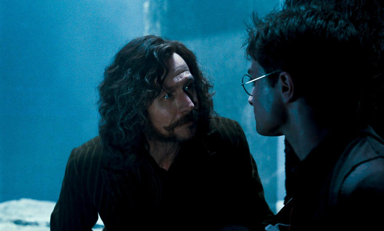 Gary Oldman and Daniel Radcliffe on the twentieth anniversary of Harry Potter