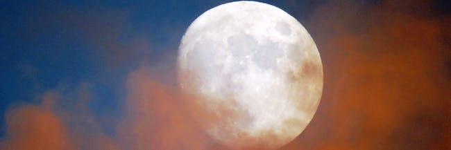 Moon in Winter