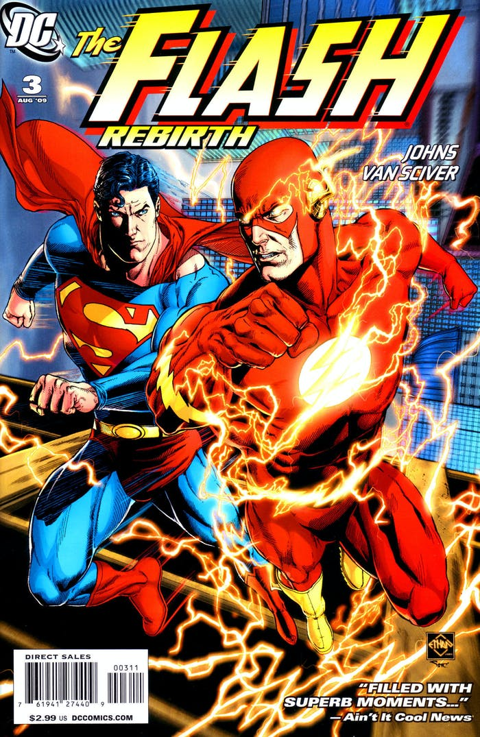 The Flash Superman Justice League Post Credits
