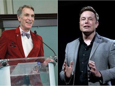 Bill Nye Is a Huge Elon Musk Fanboy
