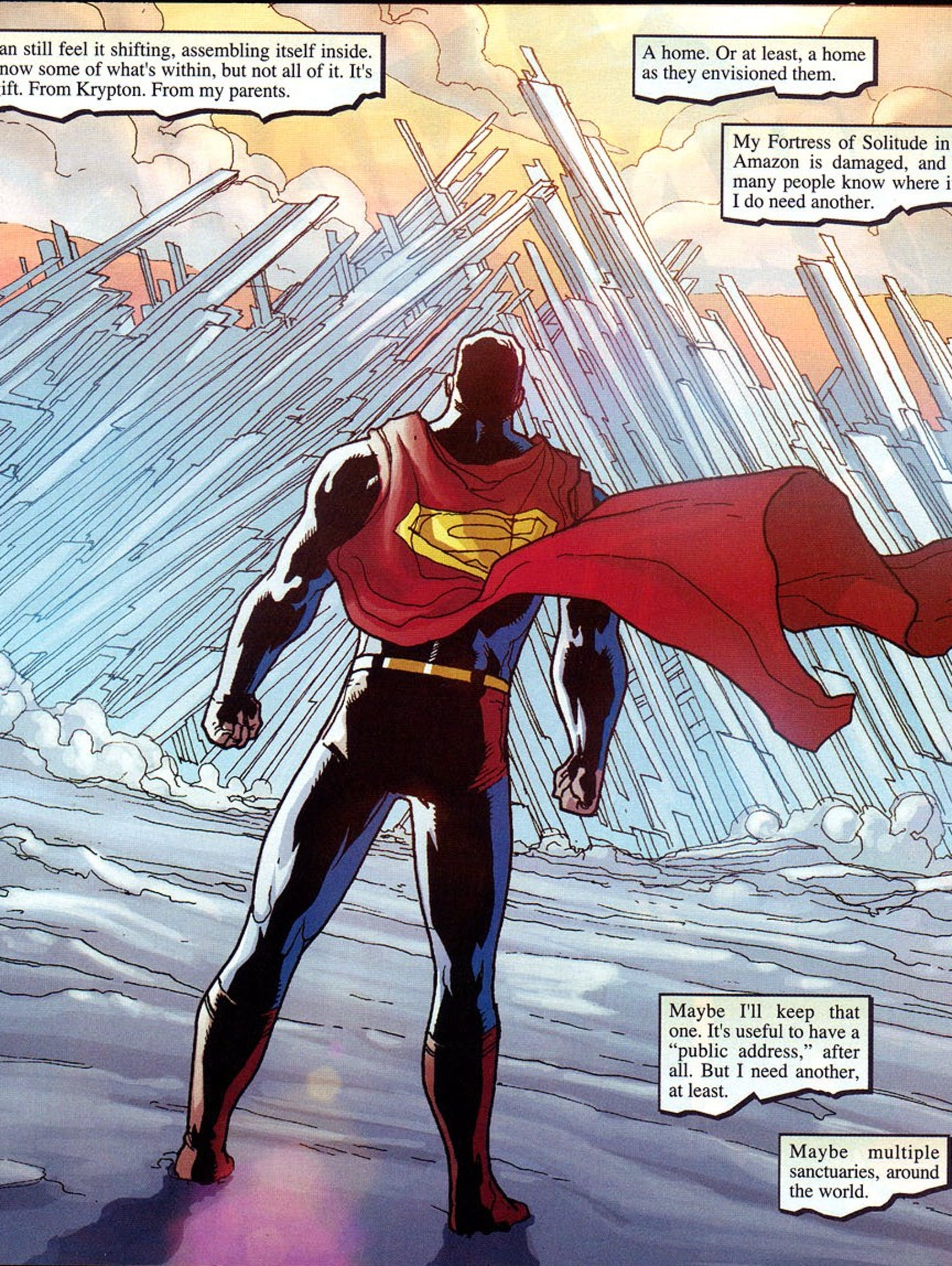 Superman Fortress of Solitude