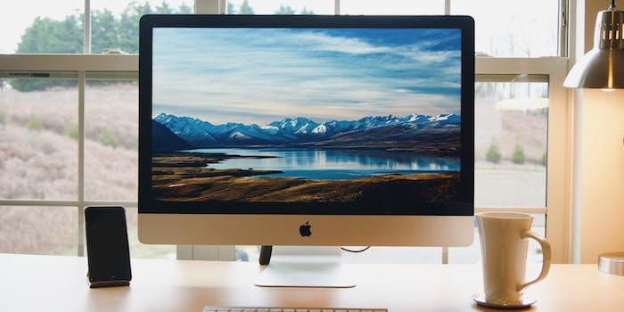 imac desktop apple