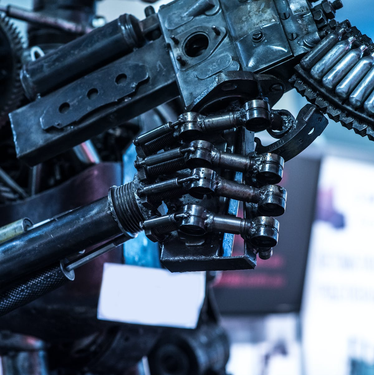 In the 2020, killer robots may roam the Earth