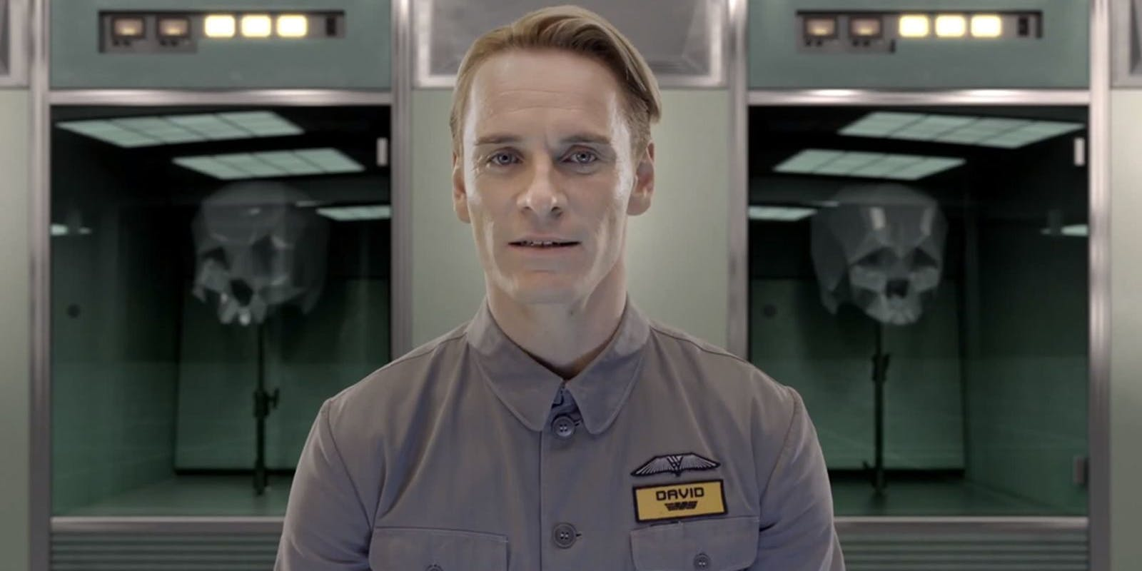 Michael Fassbender as the android David in 'Prometheus'