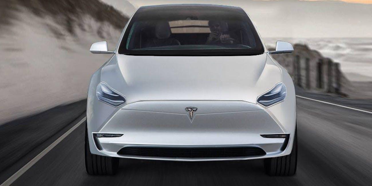 Tesla Model Y Concept Art