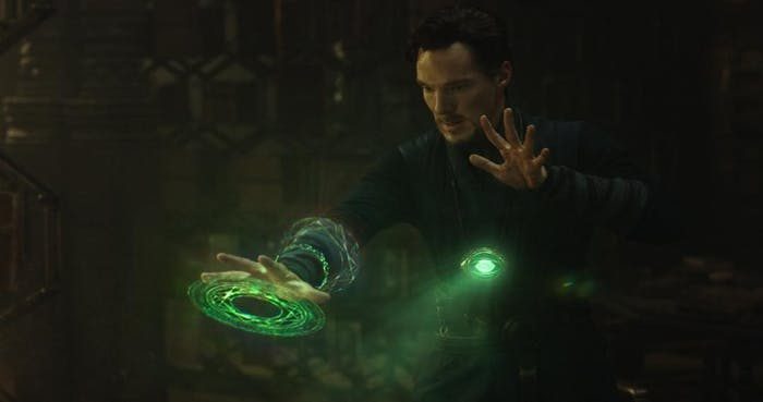 Doctor Strange Time Stone Infinity Stone Eye of Agomotto