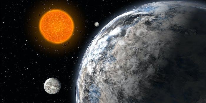 Three super-earths
