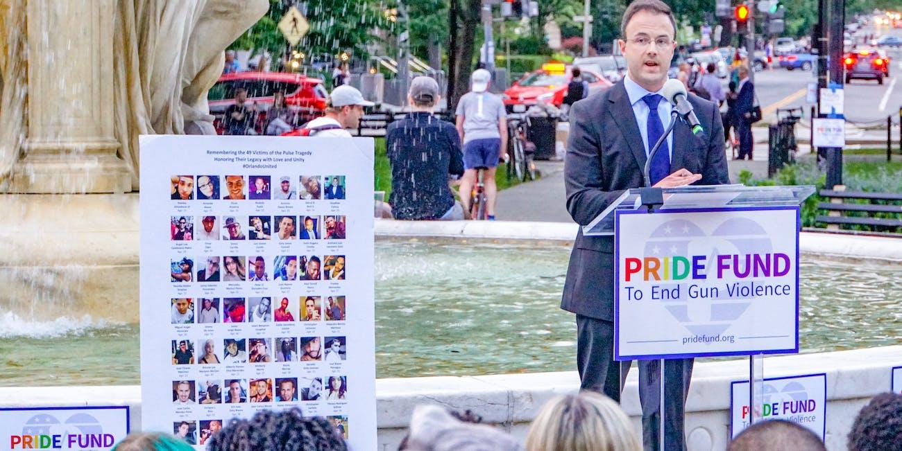 2018.06.12 A Candlelight Vigil to Remember Pulse, Washington, DC USA 03771