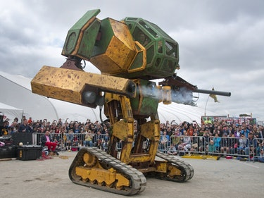 MegaBots Are the Fighting Robots of the Future: a Q&A with Brinkley Warren