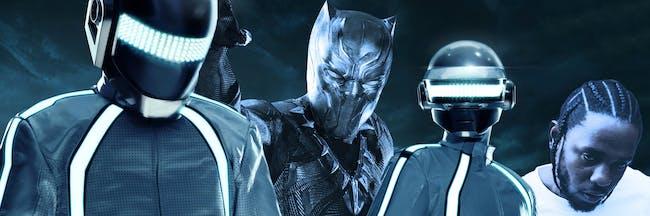 Daft Punk, Black Panther, Kendrick Lamar