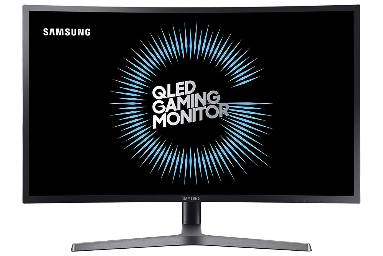 Samsung  27-Inch HDR QLED Quantum Dot Curved Gaming Monitor (144Hz / 1ms) Model C27HG70QQN