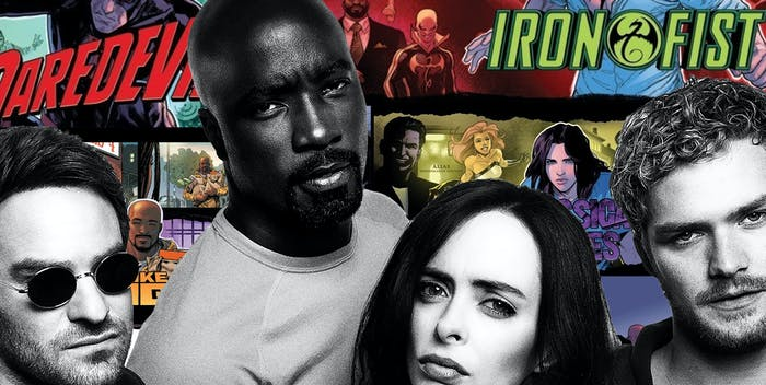 The Defenders TV Show Comic