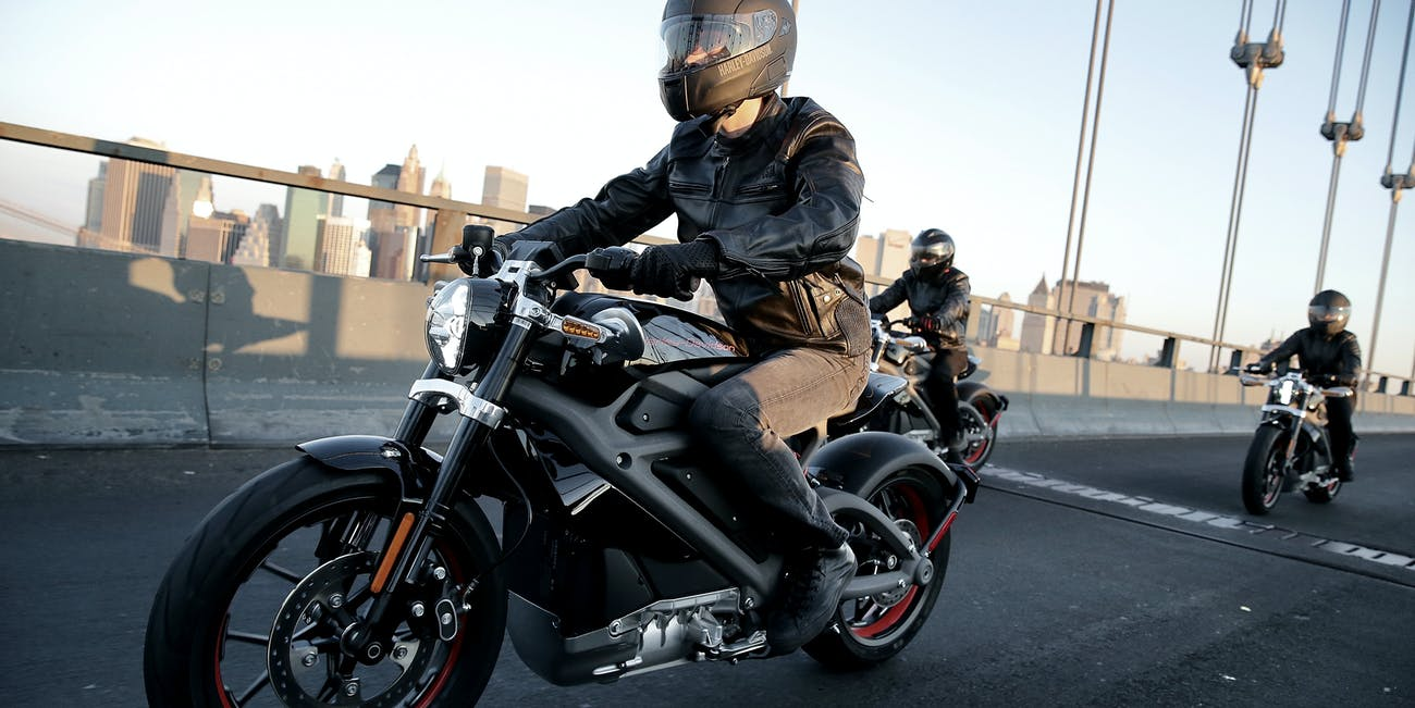 Harley-Davidson electric motorcycle sound noise