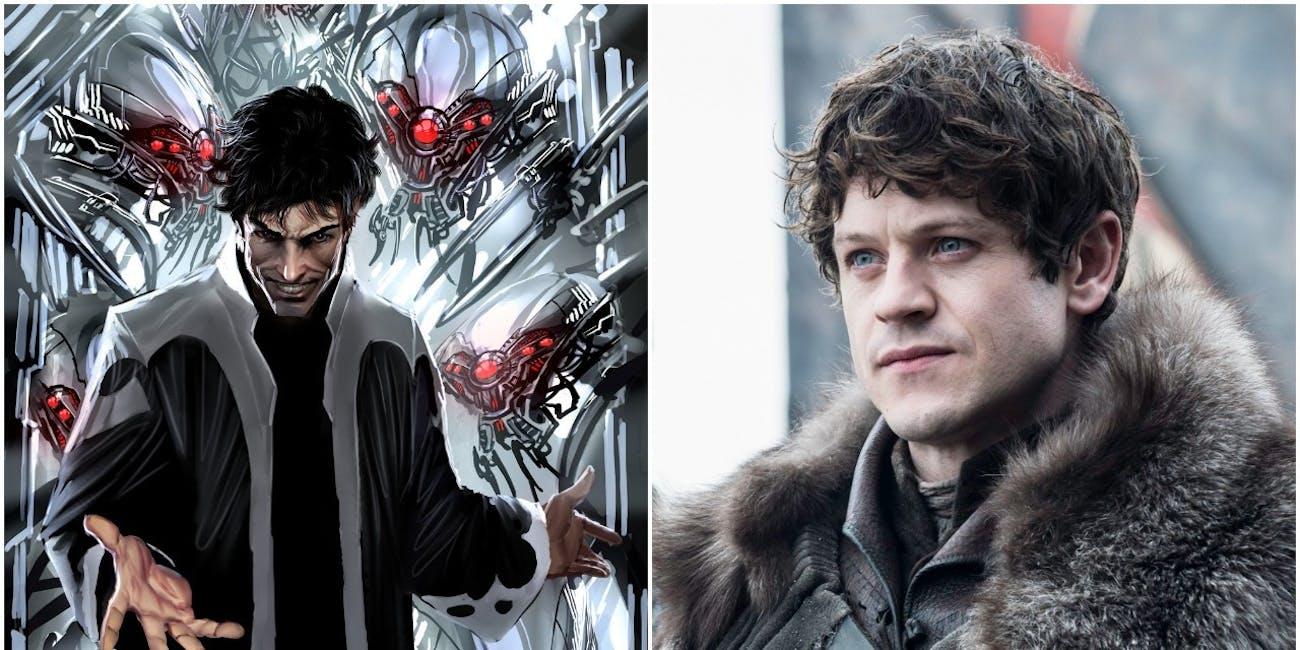 Iwan Rheon as Ramsay Bolton and Maximus from Marvel Comics 'Inhumans'