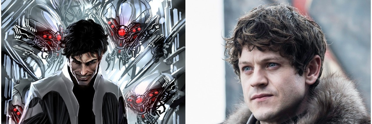 Iwan Rheon as Ramsay Bolton and Maximus from Marvel Comics 'Inhumans'