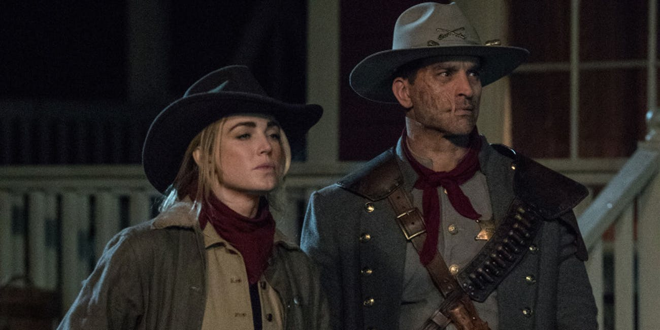 Legends of Tomorrow Jonah Hex Crisis on Infinite Earths