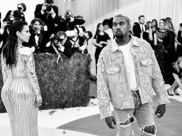 Kanye Streams His Latest Video, Parodies a Painting with Naked Trump and Taylor Swift