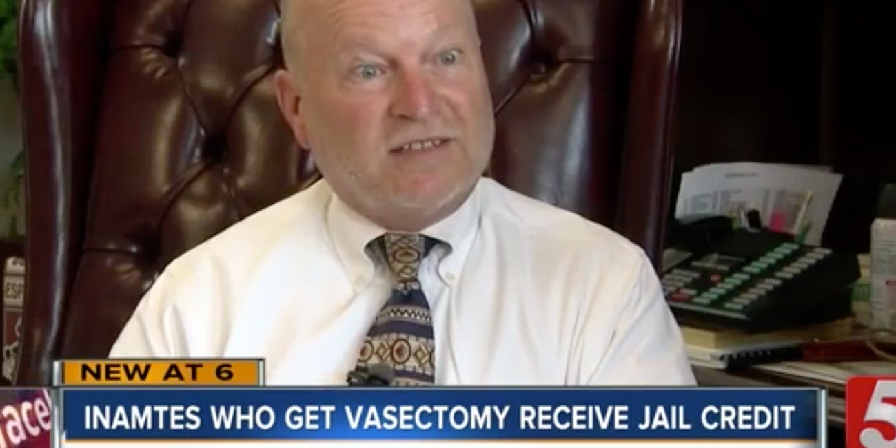 Tennessee judge vasectomies