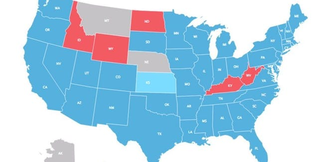 The If Only Millennials Voted Electoral Map Is Fake Inverse - Hd us election map