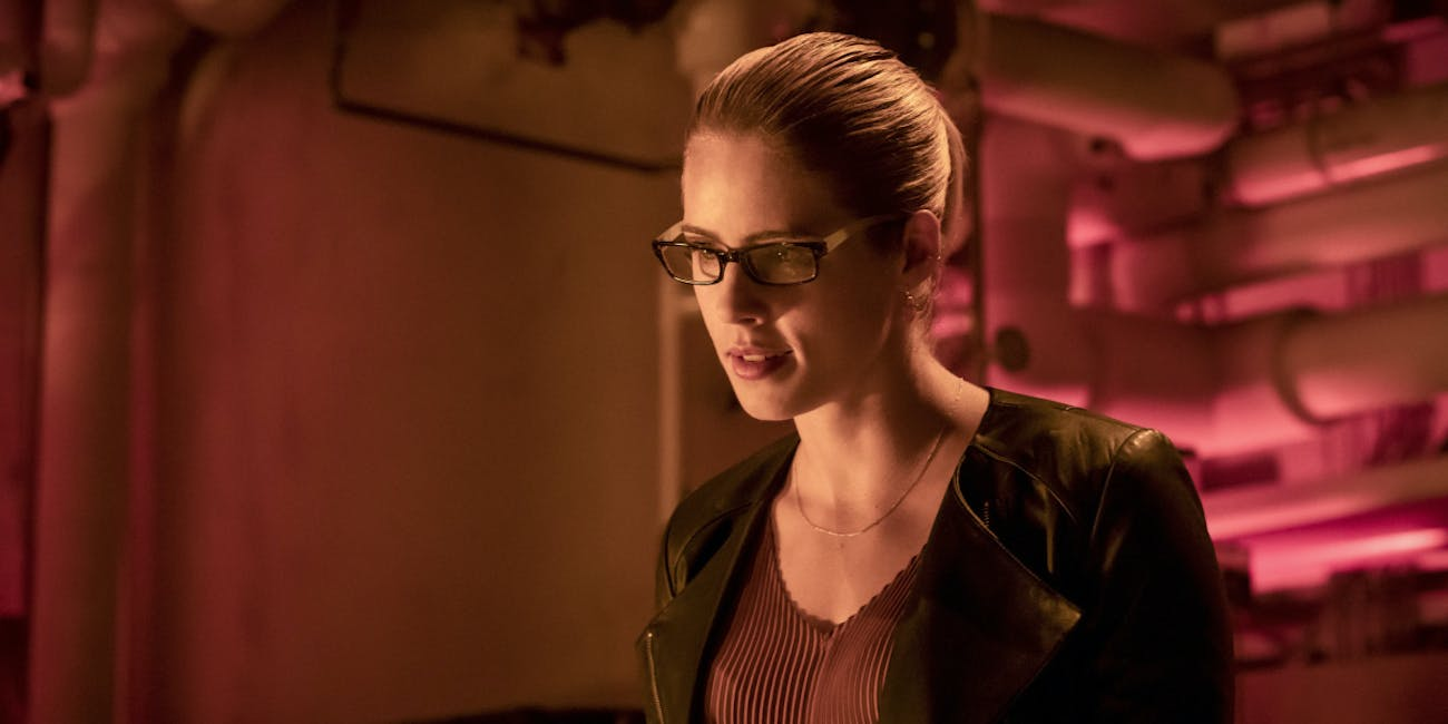 arrow season 7 episode 4 emily bett rickards felicity smoak