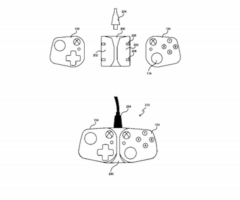 xcloud controller microsoft patent