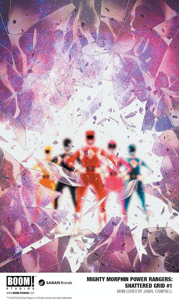 Power Rangers Shattered Grid