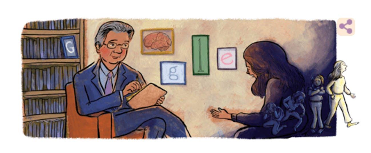 Google honored Herbert Kleber with a Google Doodle on October 1, 2019.