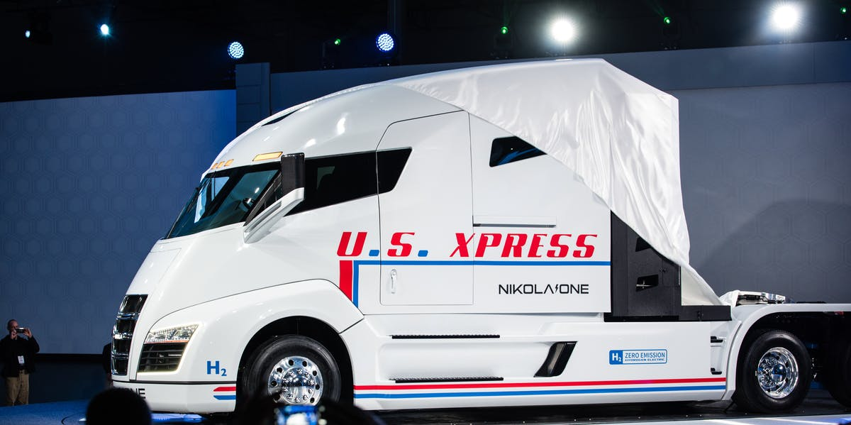 Nikola One is unveiled at an event in Salt Lake City, Utah.