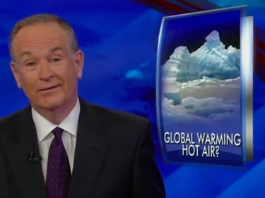 Bill O'Reilly's Legacy on Climate Change Is Full of Doubt