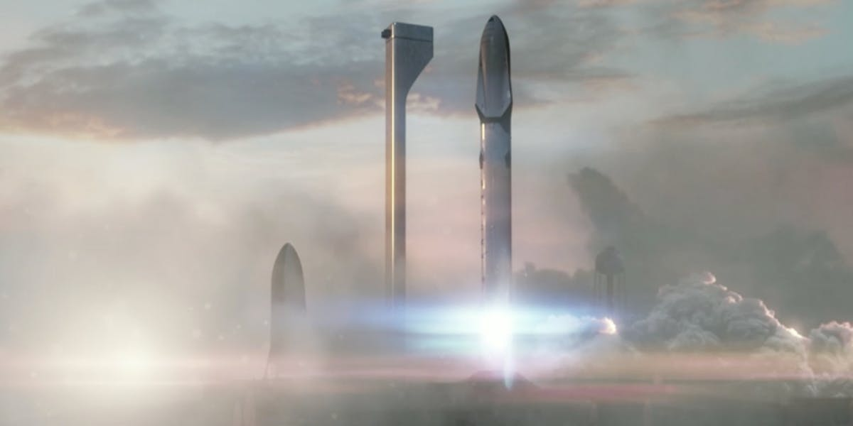 Space X's interplanetary transport system will employ rockets that have four times the thrust of the Saturn V. No big deal.