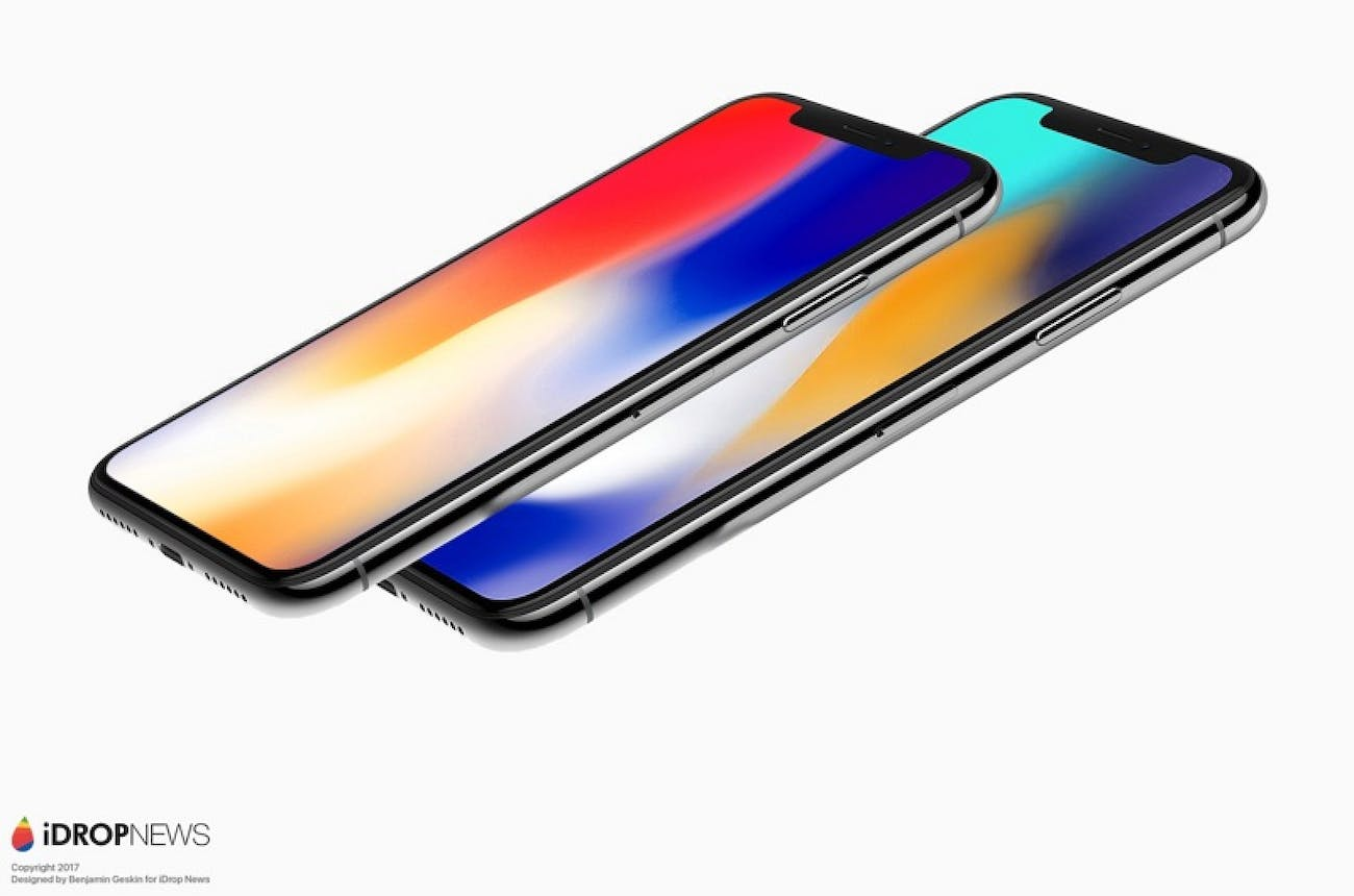 iphone x plus render
