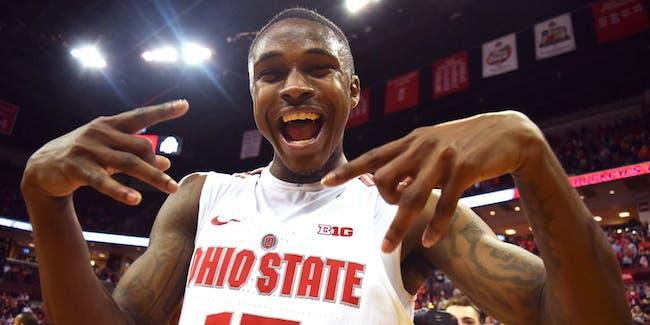 NCAA basketball Ohio State