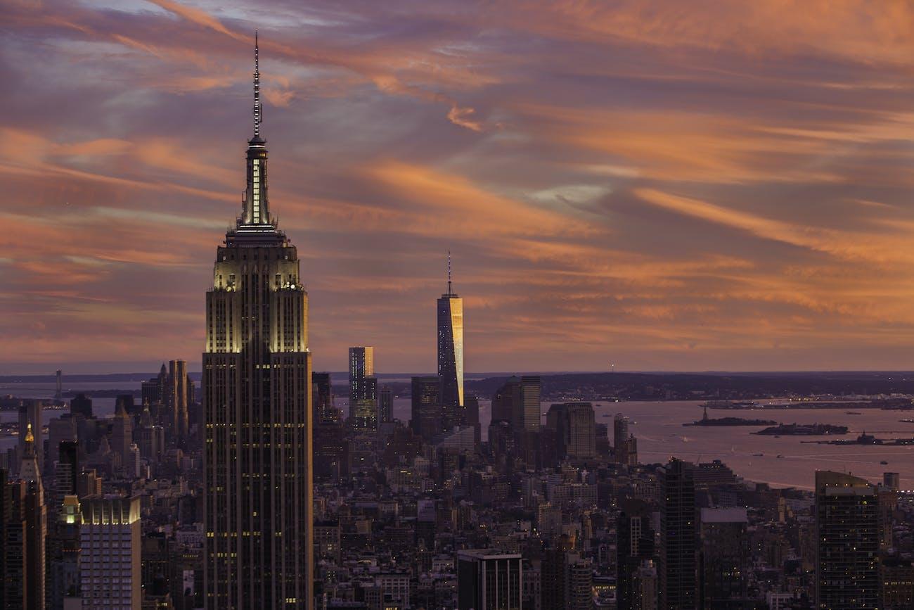 New York City Sunset September 14, 2014