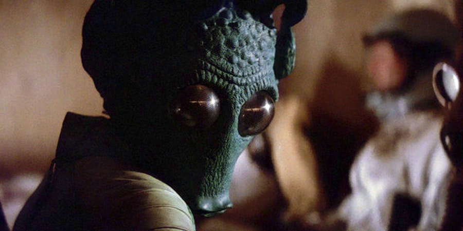 Greedo speaks the South American language Quechua in 'Star Wars.'